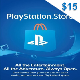 Playstation Network $15 (US)