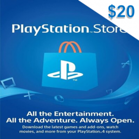 Playstation Network $20 (US)