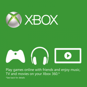 Xbox Live Card (US)