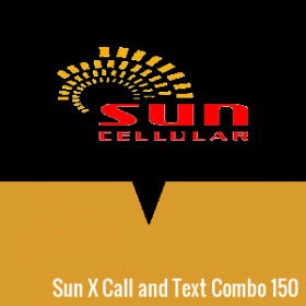 Sun Xpressload Call and Text Combo 150
