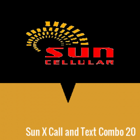 Sun X Call and Text Combo 20