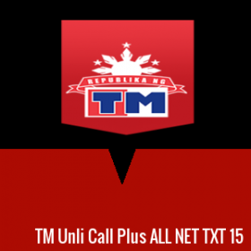 TM Unli Call Plus ALL NET TXT 15