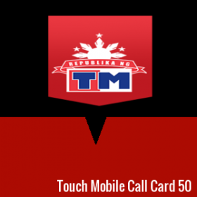 Touch Mobile Call Card 50