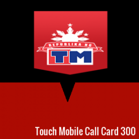 Touch Mobile Call Card 300