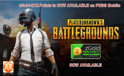 zGold-MOLPoints is NOW AVAILABLE on PUBG Mobile