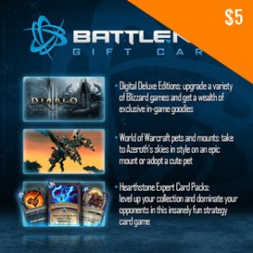 US Battle.net $5