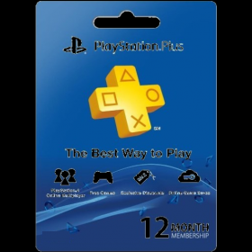 PSN Plus 1Year Membership US