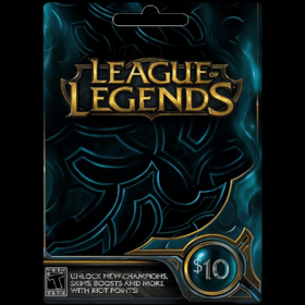 League of Legends $10 (US)