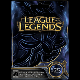 League of Legends $25 (US)