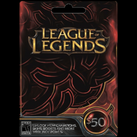 League of Legends $50 (US)