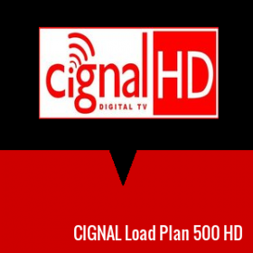 CIGNAL Load Plan 500 HD