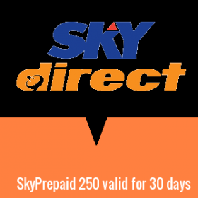 SkyPrepaid 250 valid for 30 days
