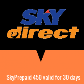 SkyPrepaid 450 valid for 30 days