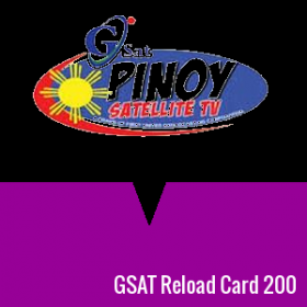 GSAT Reload Card 200