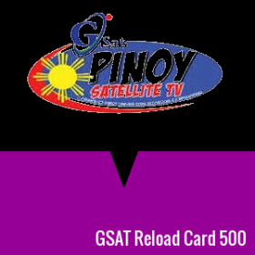 GSAT Reload Card 500